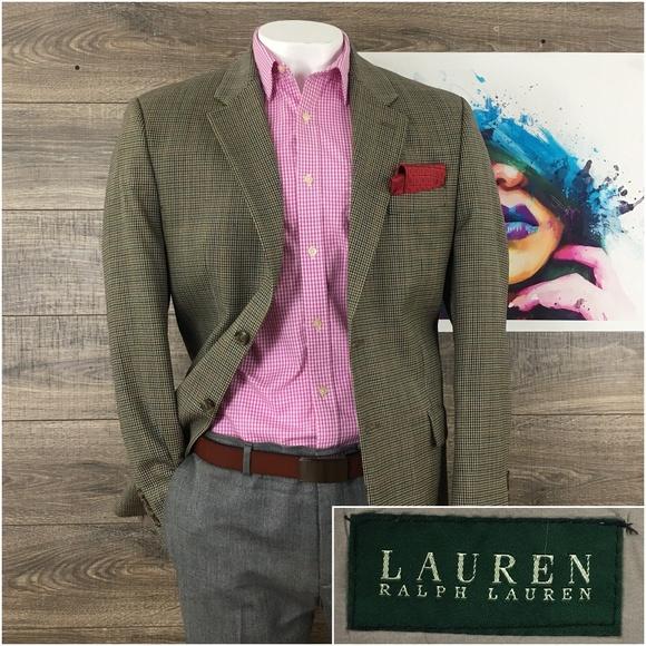 Ralph Lauren Other - Mens Blazer Sport Coat Jacket Wool Ralph Lauren